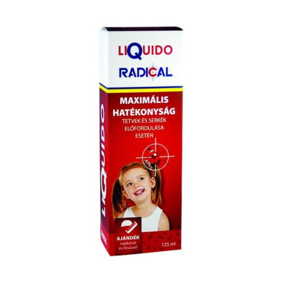 Liquido Radical sampon tetű és serkeirtó (125 ml)