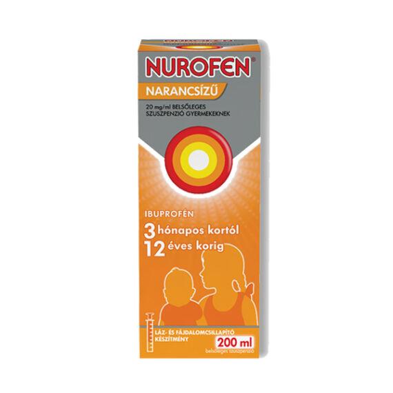 Nurofen  20mg/ml belsől.szuszpenzió gyerm.narancs (200ml)
