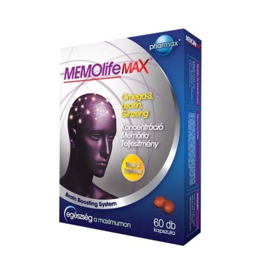 Memolife Max kapszula (60x)