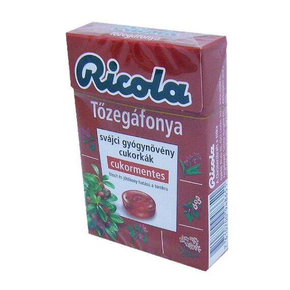 Ricola cukormentes cukorka Cranberry (40g)