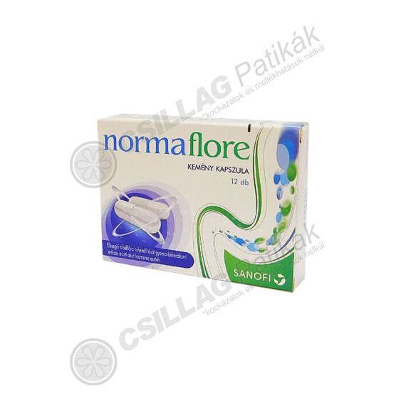 Normaflore kemény kapszula (12x)