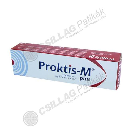 Proktis-M Plus végbélkenőcs (30g)